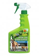 COMPO Hunde- und Katzen-Schreck, Fernhaltemittel zum Schutz vor Verunreinigungen, 500 ml - 1