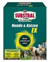 Substral Celaflor Hunde & Katzen Ex , Hund, Marder und Katze Abwehr und Vertreibungsgranulat, mit Sofortwirkung, 200g - 1